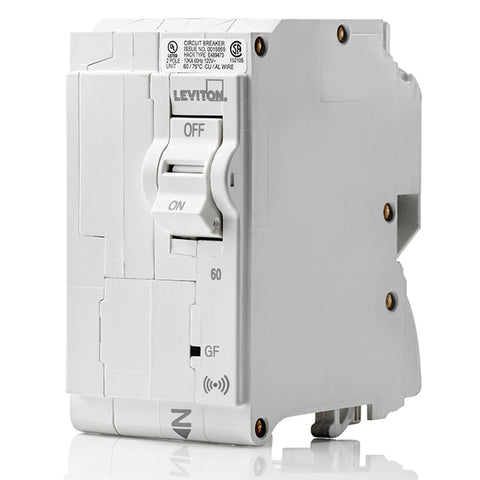 Roll over for zoom 60A Smart GFPE 2-Pole Branch Circuit Breaker, LB260-ES