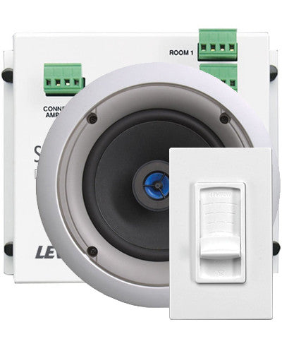 System Matching Module, Volume Controls, and Spec Grade Speakers Kit - Leviton