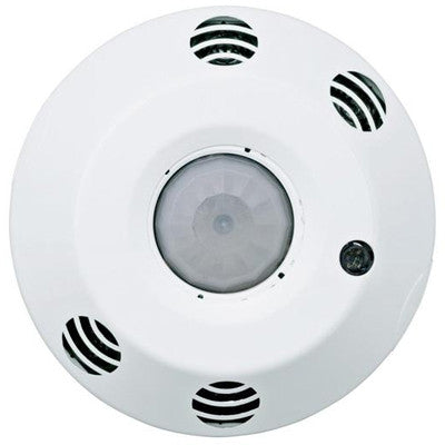 ODC Series 2000 Sq. Ft. Multi-Technology Ceiling-Mount Occupancy Sensor, 120-277 Volt, White, ODC20-MDW - Leviton