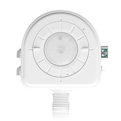Cold Storage, CEC Title 24 Compliant, Interchangeable Adjustable Lenses, LED, 24VAC, Passive Infrared Occupancy Sensor, White, OSFHP-008-ILW