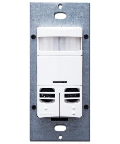 Dual-Relay, Multi-Technology Wall Switch Sensor, 2400 sq. ft. Major & 400 sq. ft. Minor Motion Coverage, Various Colors, OSSMD-MD - Leviton - 1