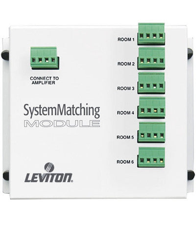 System Matching Module (For Use with Non-Impedance Matched Volume Controls SGVST), SGAMP - Leviton