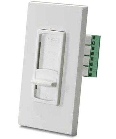 Strauss Transformer-Free Impedance Matched Volume Control, White, SGVSM-W - Leviton