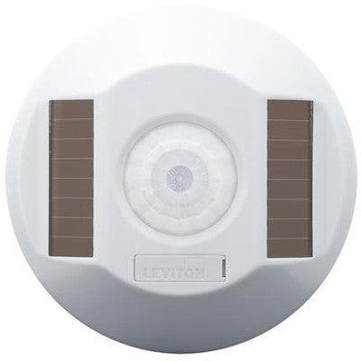 RF Wireless Self-Powered Occupancy Sensor, White, 450 or 1500 Sq. Ft Coverage Available - Leviton