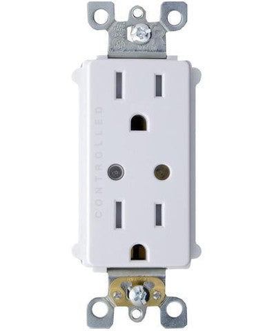 LevNet RF Duplex Receptacle for Dual Controlled Outlet (CA Title 24), WSG15-TDZ - Leviton