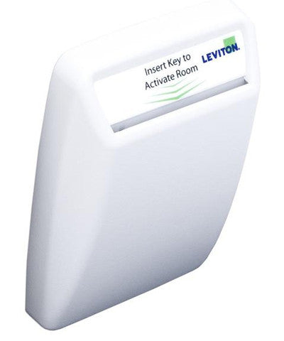 Hotel Key Card Switch, White, WSS0S-H0W - Leviton