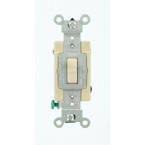20 Amp 4-Way Toggle Switch, Light Almond, CSB4-2TS