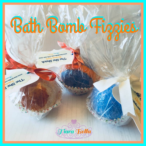 She Shack Bath Fizzing Bombs