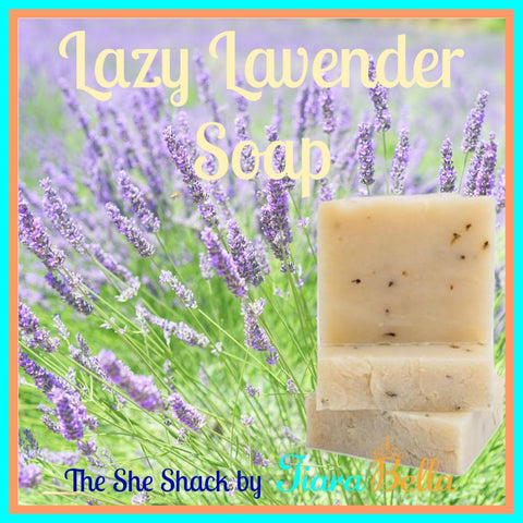 The She Shack Lazy Lavender Soap Bars