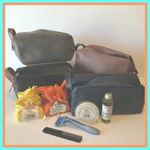 Man Cave Travel/Shave Gift Set