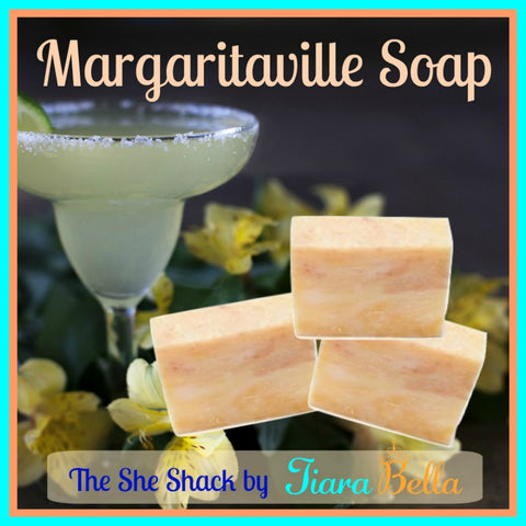 The She Shack Margaritaville Soap Bar