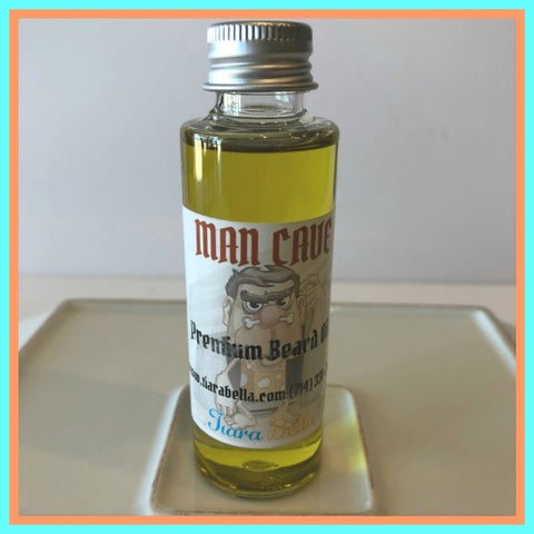 Man Cave Premium Beard Oil