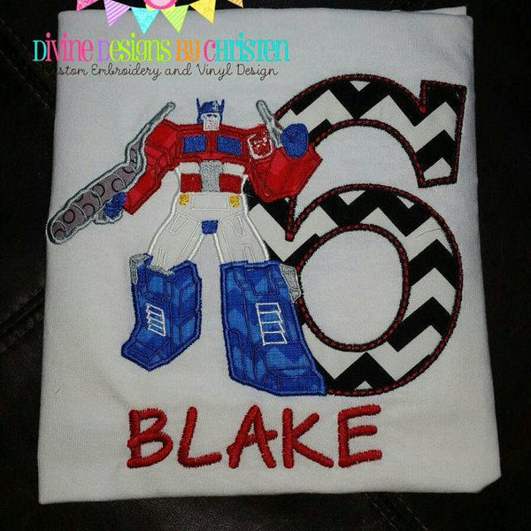 Transformers Embroidery Design Set - Sarah Sew and Sew