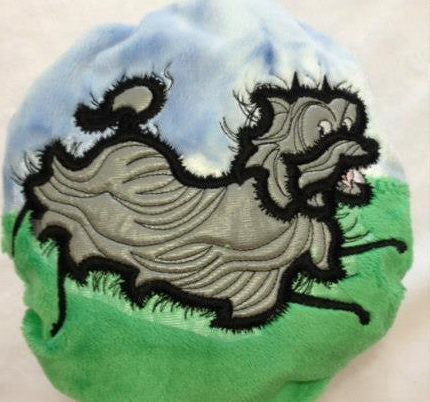 Hairy Maclary Embroidery Design - Sarah Sew and Sew