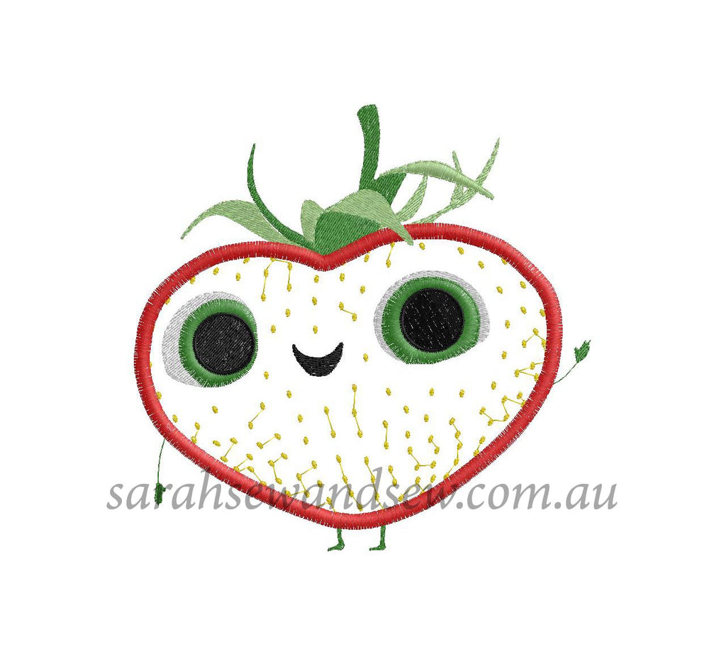 Meatballs - Berry - Embroidery Design