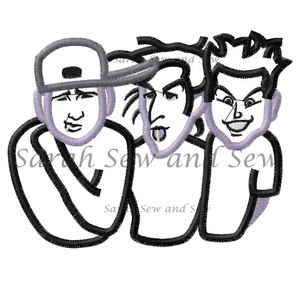 Blink 182 Machine Embroidery Design