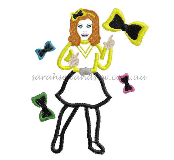 Emma Embroidery Design - Sarah Sew and Sew