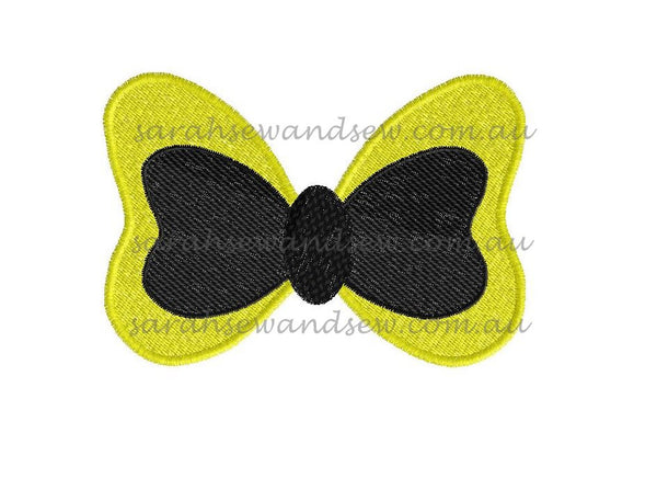 Emma's Bow The Wiggles Embroidery Design