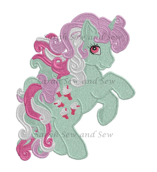 My Little Pony Embroidery Design Set