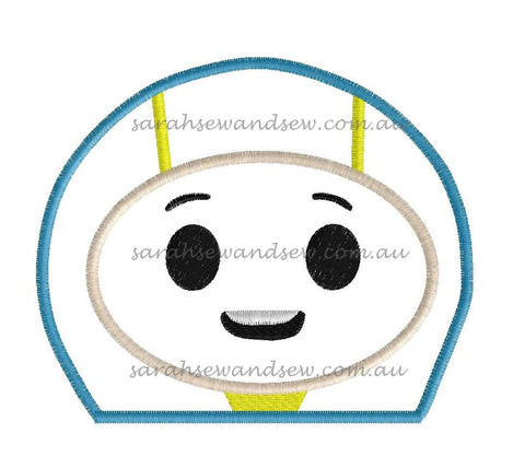 Foz Go Jetters Embroidery Design - Sarah Sew and Sew
