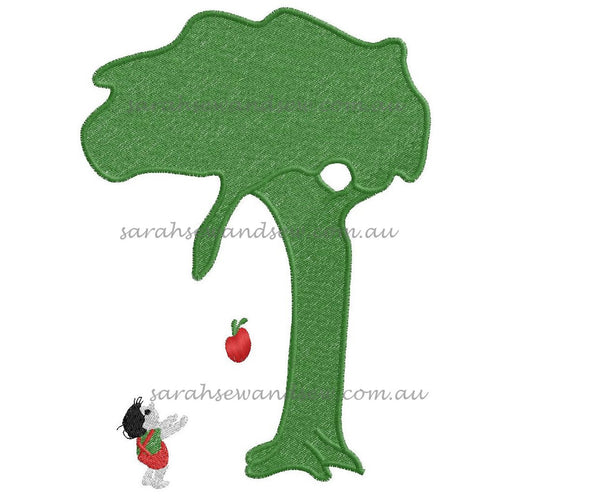 The Giving Tree Embroidery Design - Sarah Sew and Sew