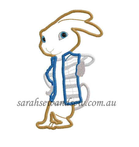 Hop Embroidery Design - Sarah Sew and Sew