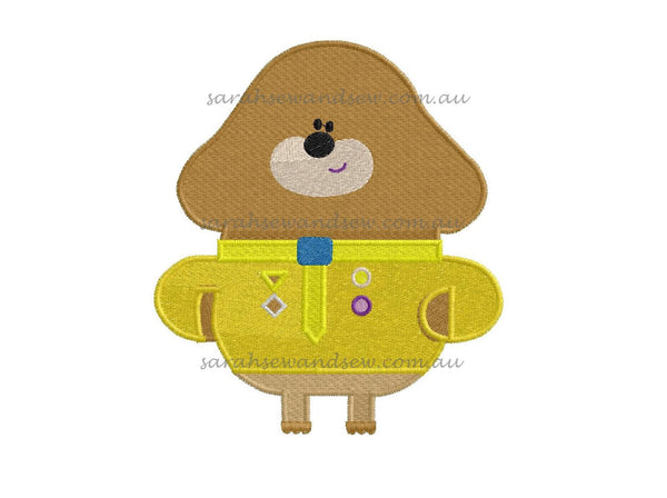 Hey Duggee Embroidery Design Set