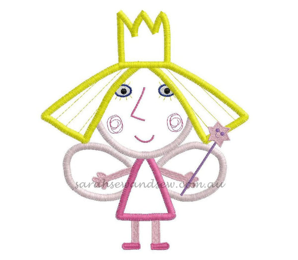 Ben and Holly Embroidery Design Set- Sarah Sew and Sew