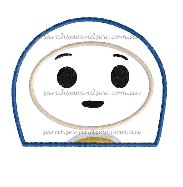 Kyan Go Jetters Embroidery Design - Sarah Sew and Sew