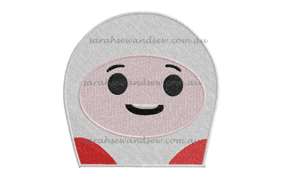 Lars Go Jetters Embroidery Design - Sarah Sew and Sew