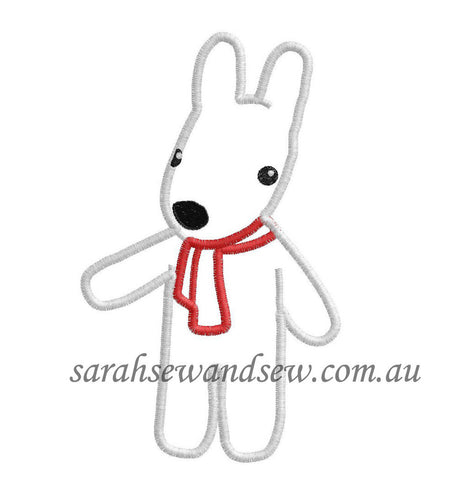 Lisa Embroidery Design (Gaspard and Lisa) - Sarah Sew and Sew