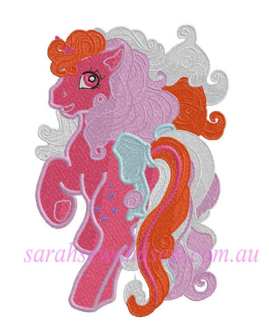 Galaxy My Little Pony Embroidery Design - Sarah Sew and Sew