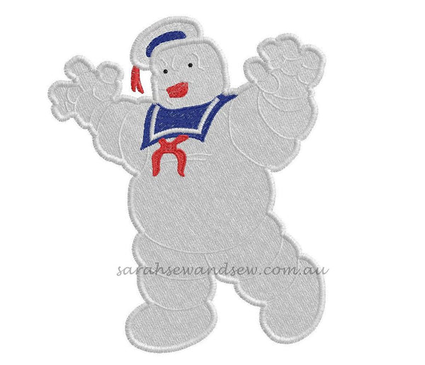 Ghostbusters Embroidery Design Set - Sarah Sew and Sew