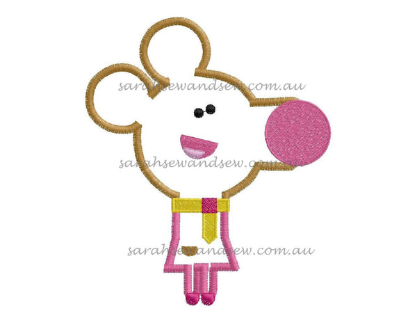 Norrie (Hey Duggee) Embroidery Design - Sarah Sew and Sew