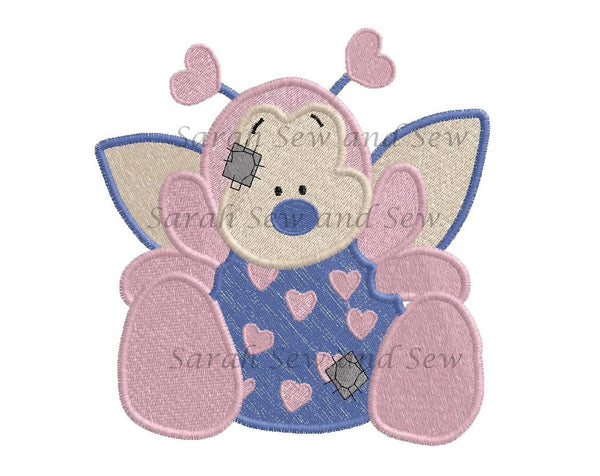Passion Blue Nosed Friends Embroidery Design - Sarah Sew and Sew