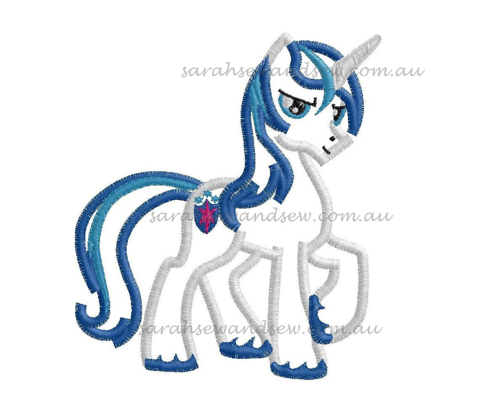 Shining Armor My Little Pony Embroidery Design