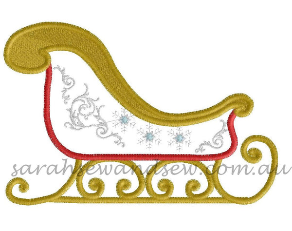 Christmas Embroidery Design Set - Sarah Sew and Sew
