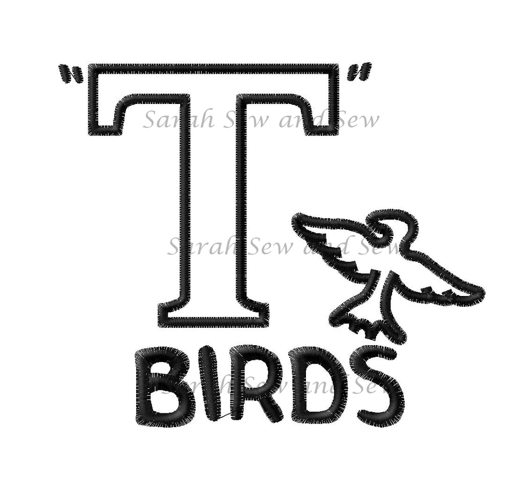 T'Birds Embroidery Design