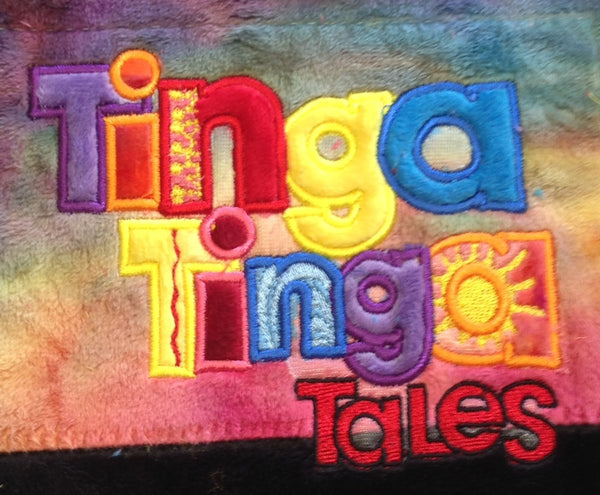 Tinga Tinga Tales Logo Embroidery Design - Sarah Sew and Sew