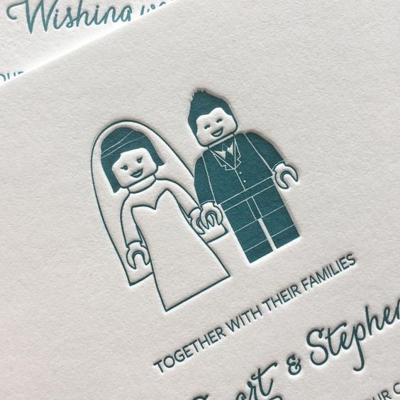Lego / Illustrated Wedding