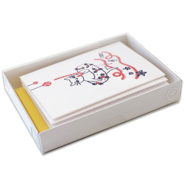 6 Cat Card Box Set