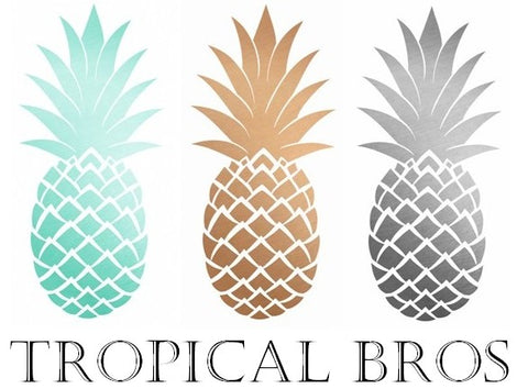 Tropical Bro Logo inspiration Hawaiian shirts button down tropical floral design custom