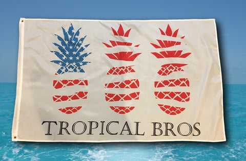 American Flag - Tropical Bros Style