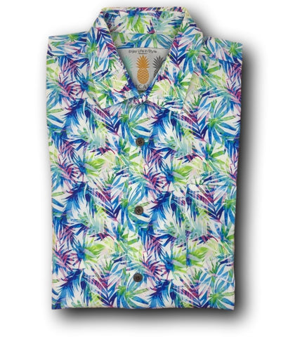 Super Stretch - Hawaii Vibes Hawaiian Shirt