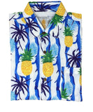Super Stretch - Jungle Pineapple Hawaiian Shirt