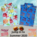 Super Stretch  ***NATTY SELTZER***  Hawaiian Shirt