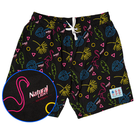 ***NATURDAYS*** Retro Flamingo Collab Swimsuit