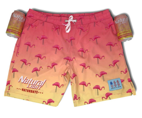 ***NATURDAYS*** Flamingo Collab Swimsuit