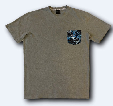Grey Night Camo Pocket Tee