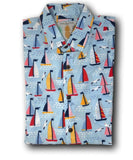 Super Stretch - Sailin Away Hawaiian Shirt